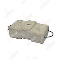 Противовес бетонный для строительной люльки zlp 630