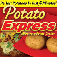 Мешок-рукав для запекания Potato Express , Мешочек для запекания картошки в микроволновке Potato Express - гот