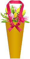 Бумажные пакеты для цветов