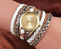Шикарные стильные женские часы с браслетом. Разные цвета. Оригинальный дизайн. Хорошее качество. Код: КГ2229