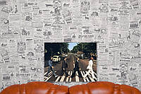 The Beatles. Битлз. 30х40 см. Картина на холсте.
