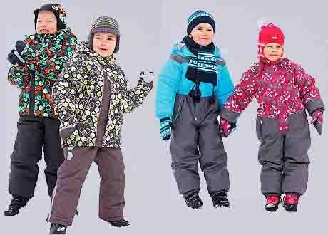 Комбинезоны и костюмы для зимы