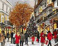 Рисование по номерам 40×50 см. Время рождества Художник Ричард Макнейл