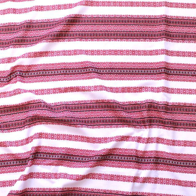Ткань для штор с украинской вышивкой Ностальгия ТДК-105 1/1