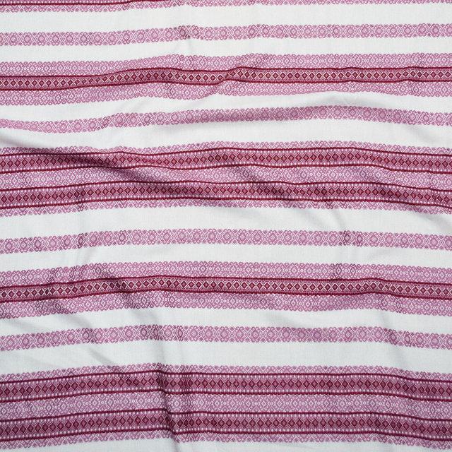 Ткань для штор с украинской вышивкой Ностальгия ТДК-105 1/4
