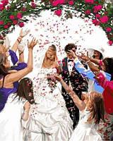 Раскраски по номерам 40×50 см. Свадебное конфетти Художник Ричард Макнейл
