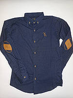 Рубашка с длинным рукавом для мальчика р-р от 10 до 15 лет