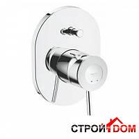Смеситель для ванны скрытого монтажа Grohe BauClassic 29047000