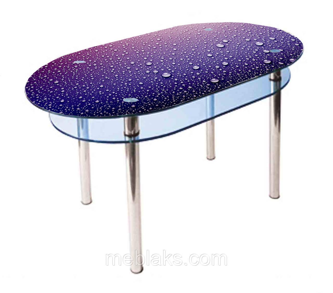 Стол стеклянный КС-6 (покраска)