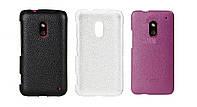 Чехол для Nokia Lumia 620 - Melkco Snap leather cover, кожаный, разные цвета