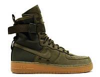 Мужские кроссовки Nike Air Force SF1 Зеленые