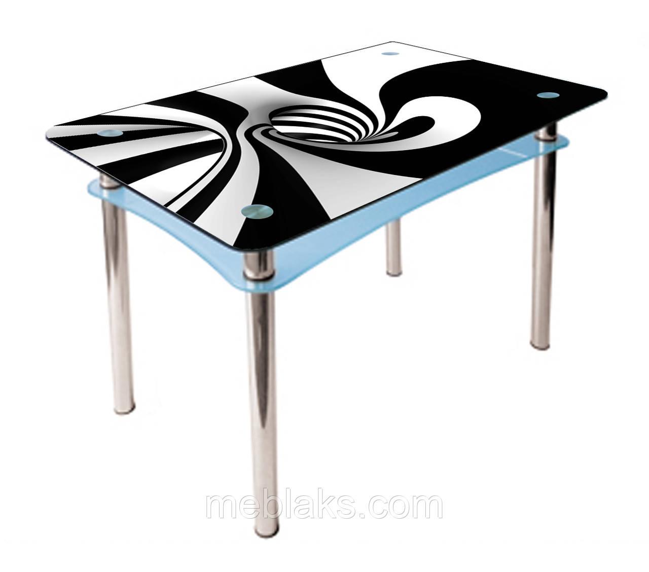 Стол стеклянный Абрис (покраска)
