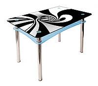 Стол стеклянный Абрис (покраска), фото 1