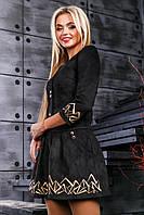 Сукня жіноча замшеве в 3х кольорах SV2382, фото 1