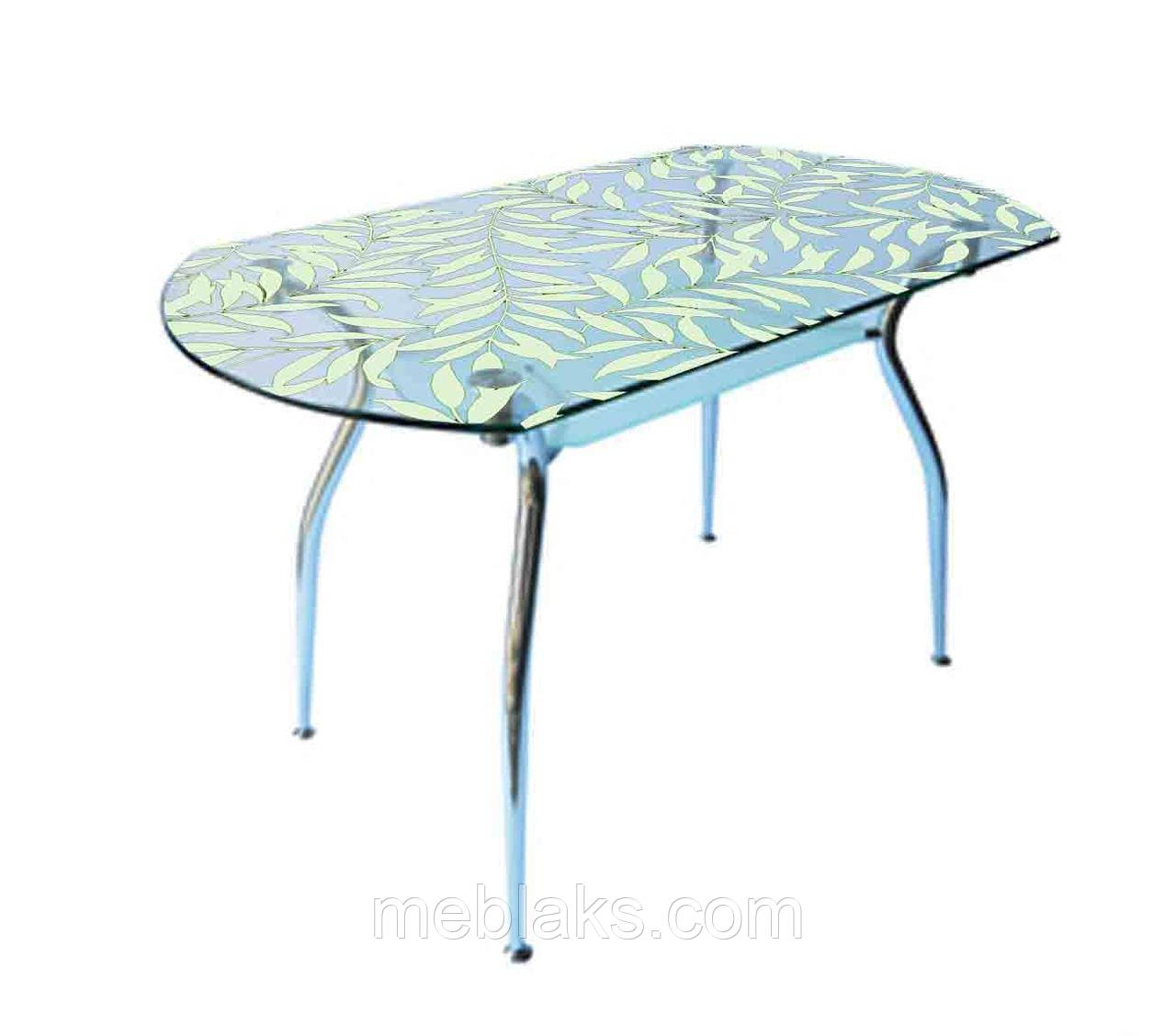 Стол стеклянный Кристал (покраска)