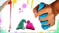 Жвачка для рук HandGum Светящийся Синий большая (8990)