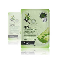 Корейская тканевая маска с алое Shelim Hydrating Essence Mask Aloe, фото 1