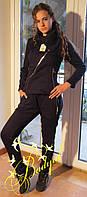 Женский спортивный костюм   молния на косую