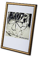 Фоторамка из пластика Золото - для грамот, дипломов, сертификатов, фото, вышивок!