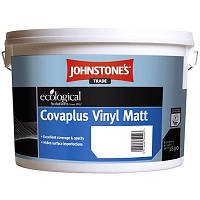 Водоэмульсионная краска для стен и потолков Johnstone's Covaрlus Vinil Matt, виниловая, 10 л