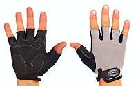 Перчатки атлетические неопреновые BG02-GR