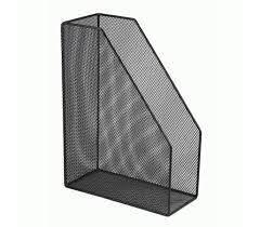 Лоток для бумаг металлический вертикальный черный Axent 2120