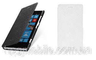 Чехол для Nokia Lumia 720 - Melkco Book leather case, кожаный, разные цвета