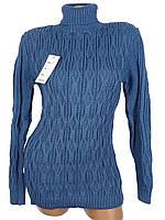 Теплый свитер с узором вязка (в расцветках)