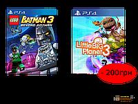 LEGO BATMAN 3: Покидая Готэм PS4 + Little Big Planet 3 PS4 (61967)