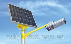 Уличное освещение на солнечных батареях мощностью 15 Вт