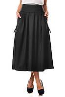 Женская длинная пышная юбка Макси ZANNA BREND с карманами, фото 1