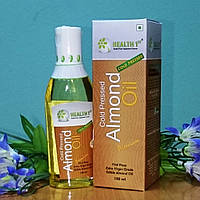 """Миндальное пищевое масло 100%, холодный отжим, 100 мл, производитель """"Прано Флекс"""", Индия"""