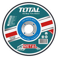 TOTAL Абразивный режущий диск по металлу Total TAC2211152 115х3.2х22.2мм