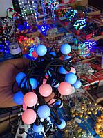 Гирлянда новогодняя 20 ламп 4м