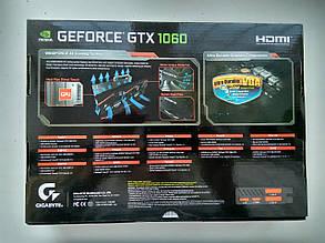 Видеокарта GIGABYTE GeForce GTX 1060 WINDFORCE OC 3G (GV-N1060WF2OC-3GD), фото 2