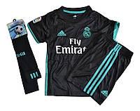 Футбольная форма  «Реал Мадрид»  детская + гетры  «Реал Мадрид» комплект 2017/18