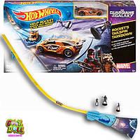 Игровой набор Хот вилс  Трек плюс машинка Стражи галактикиHot Wheels Marvel Guardians of the Galaxy Rocket's