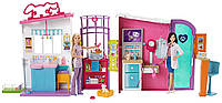 Барби центр по уходу за питомцами Barbie Pet Care Center FBR36