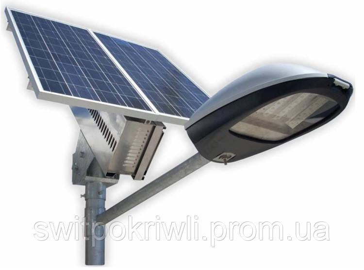 Уличное освещение на солнечных батареях мощностью 30 Вт