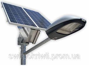 Уличное освещение на солнечных батареях мощностью 30 Вт, фото 2