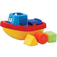 Игрушка-сортер для купания Веселый кораблик NAVYSTAR (68021-A)