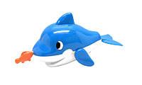 Игрушка для купания Дельфин с рыбкой NAVYSTAR (65083-1)