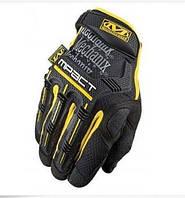 Перчатки тактические  черные c желтым  M1_B_Y