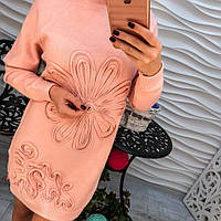"Женская нарядная туника""Цветок"", 3 цвета"