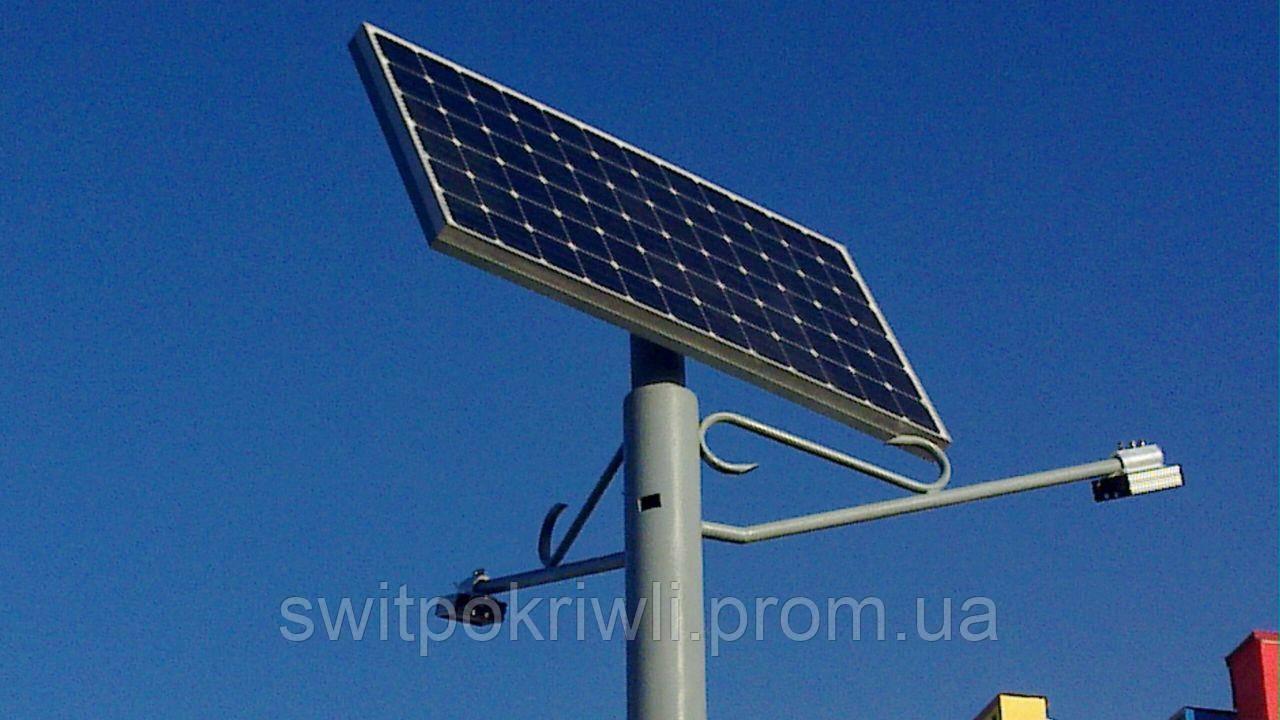 Уличное освещение на солнечных батареях мощностью 60 Вт
