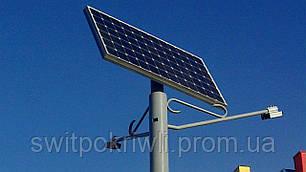 Уличное освещение на солнечных батареях мощностью 60 Вт, фото 2