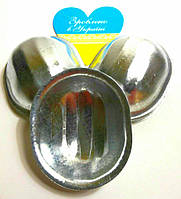 Форма для выпечки Орешков порционные 4,5 см на 3,8 см (набор 10 штук)
