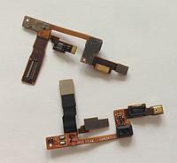 Шлейф (Flat cable) с коннектором микрофона, с датчиком приближения для LG Optimus 3D P920