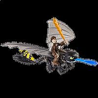 Всадник Иккинг и дракон Беззубик в новом снаряжении SPIN MASTER (SM66594-7)