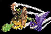 Викинг Валка с малышами Змеевиком и Громмелем SPIN MASTER (SM66594-9)